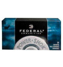 Federal Ammunition FEDERAL AMMO POWER-SHOK 300 SAVAGE 180GR SP 20/BX