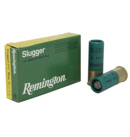 Remington REMINGTON SLUGGER AMMO 12GA MAG 2.75IN 1OZ MAGNUM RIFLED SLUG 5/BX