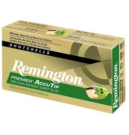 "Remington REMINGTON PREMIER ACCUTIP SLUG 12G 2.75"" 385GR 5/BX"