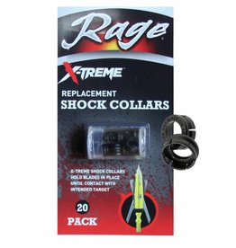 RAGE OUTDOORS Rage X-Treme Replace Shock Collars  20-pack
