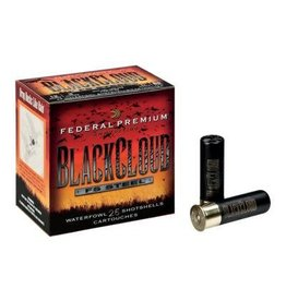 Federal Ammunition FEDERAL PREMIUM AMMO BLACK CLOUD FS STEEL 20GA 3IN 1OZ 2SHOT WATERFOWL 25/BX