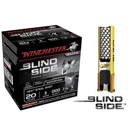 Winchester WINCHESTER BLIND SIDE AMMO HEX STEEL SHOT 20GA 3IN 1 1/16OZ 5 SHOT 25/BX
