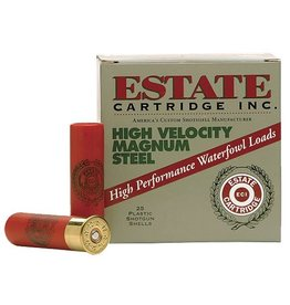 Estate Cartridges ESTATE HIGH VELOCITY MAGNUM STEEL AMMO 20GA 3IN 1OZ 4 SHOT 25/BX