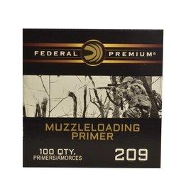 Federal Ammunition FEDERAL PREMIUM MUZZLELOADING PRIMER 209 100/BX