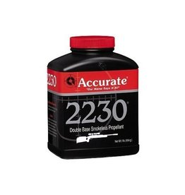 Accurate Arms ACCURATE ARMS 2230 DOUBLE-BASE SMOKELESS RIFLE PROPELLENT POWDER 1LB