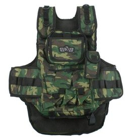 Gen X Global Gen X Tactical Paintball Vest (Camo)