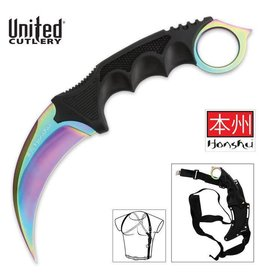 United Cutlery Honshu Karambit with Shoulder Holster Sheath UC3113
