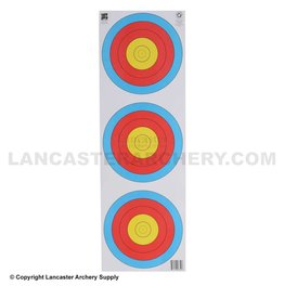 delta Maple Leaf TA-40cm Vertical 3 Spot Target Face