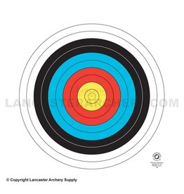 delta Maple Leaf Reduced 40cm 10-Ring FITA Target Face