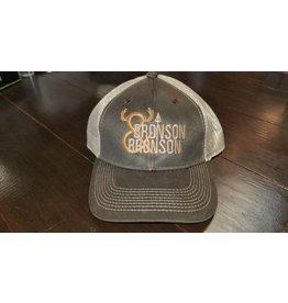 Bronson & Bronson Brown/Tan Satin Hat o/s