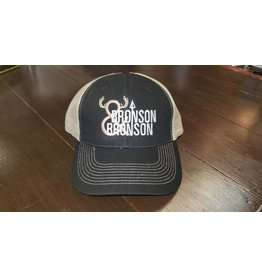 Bronson & Bronson Black/Tan Mesh Hat O/S