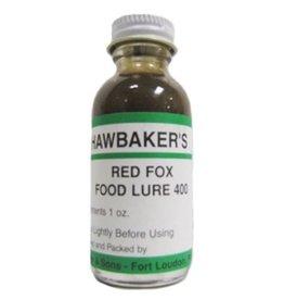 hawbaker's red fox food lure 400