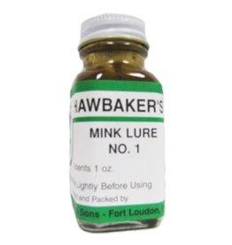 hawbaker's mink lure no.1