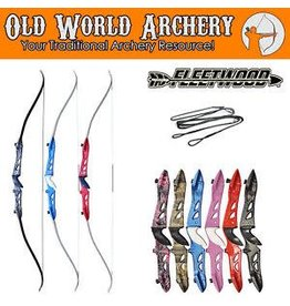 "Fleetwood Muddy Girl Knight Recurve 62"" 29# RH"