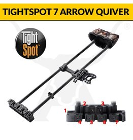 tightspot tight spot 7 arrow quiver
