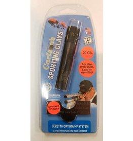 Carlsons Beretta Optima HP 20 Gauge Black Sporting Clays Choke Tube