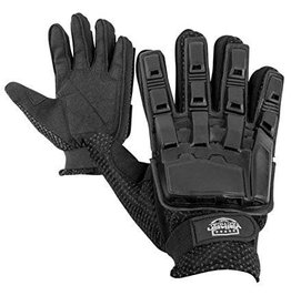 VALKEN Gloves V-TAC Full Finger Plastic Back BLACK XL