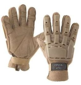 VALKEN Gloves V-TAC Full Finger Plastic Back TAN M