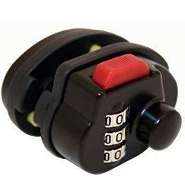 FJM FJM Security 3-Dial Combination Gun Trigger Lock