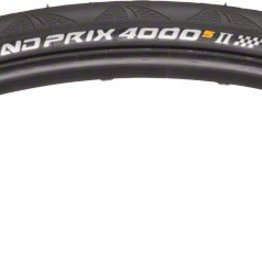 Grand Prix 4000 S II Tire 700x25 Black Folding Bead and Black Chili Rubber