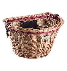 Wicker Honey Front Lift-Off Basket