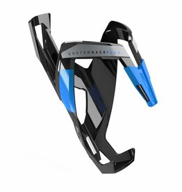 Bottle Cage Custom Race Plus Glossy black/blue
