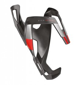 Bottle Cage Vico Carbon Matte Red Graphic