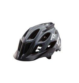 Fox Racing Flux Helmet: Black Camo SM/MD