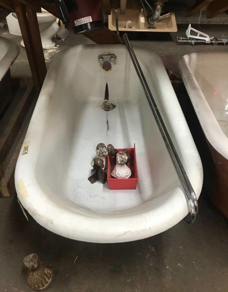 Cast Iron Bathtub - Razed & Found