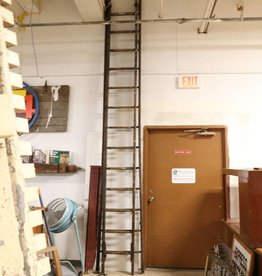 Antique Wooden Extension Ladder