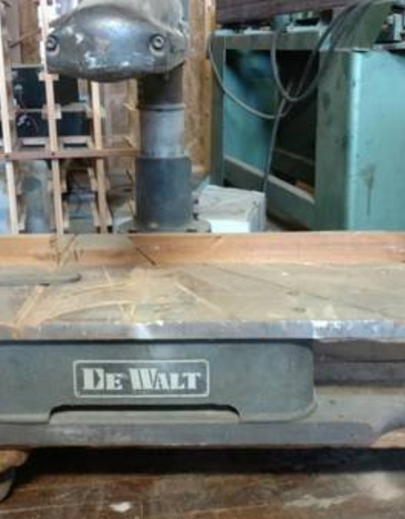 R&F DeWalt Radial Arm Saw