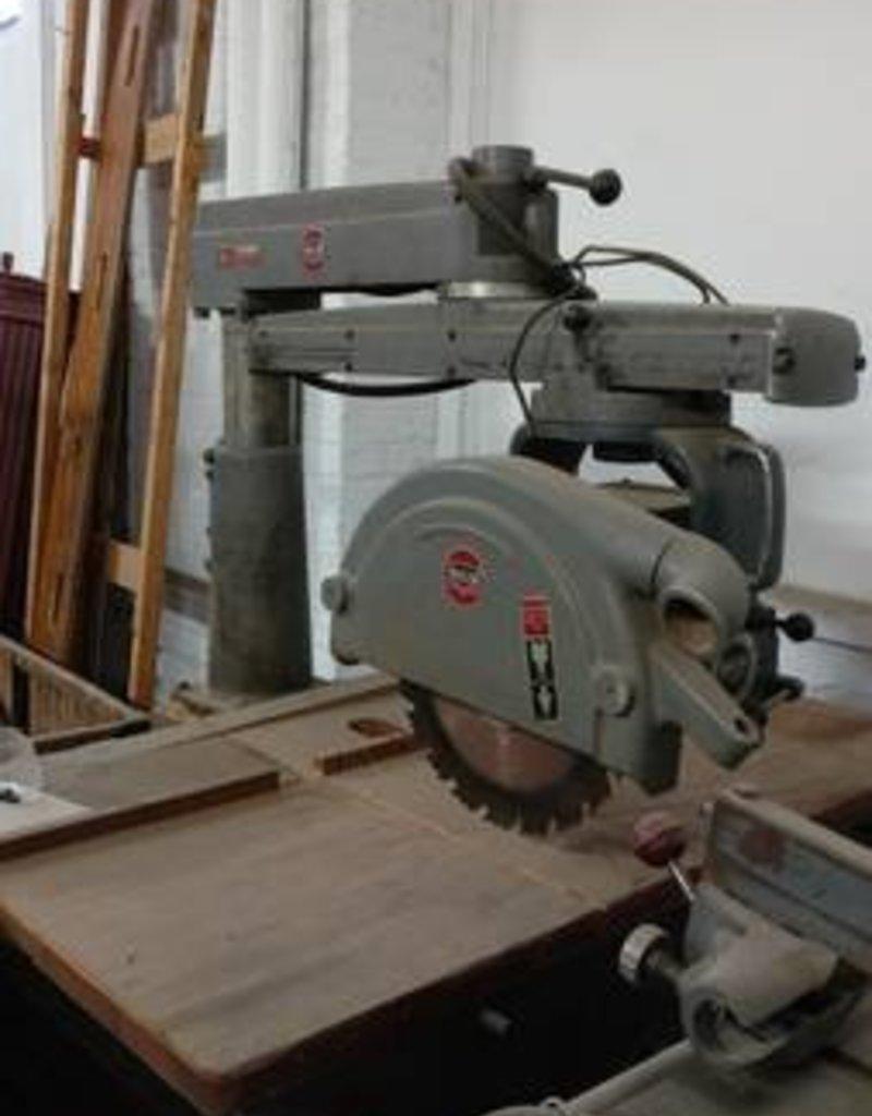 R&F Delta Radial Arm Saw