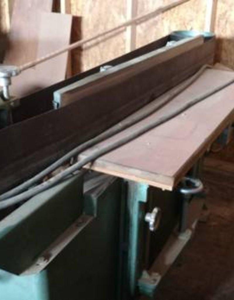 R&F Industrial Horizontal Belt / Edge Sander
