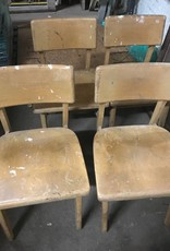R&F Vintage School Chair, Set of 4