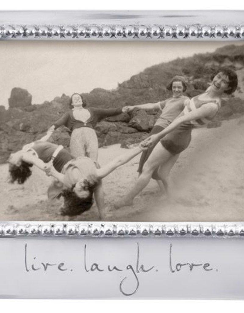 """MARIPOSA 3906LL """"LIVE. LAUGH. LOVE."""" FRAME"""