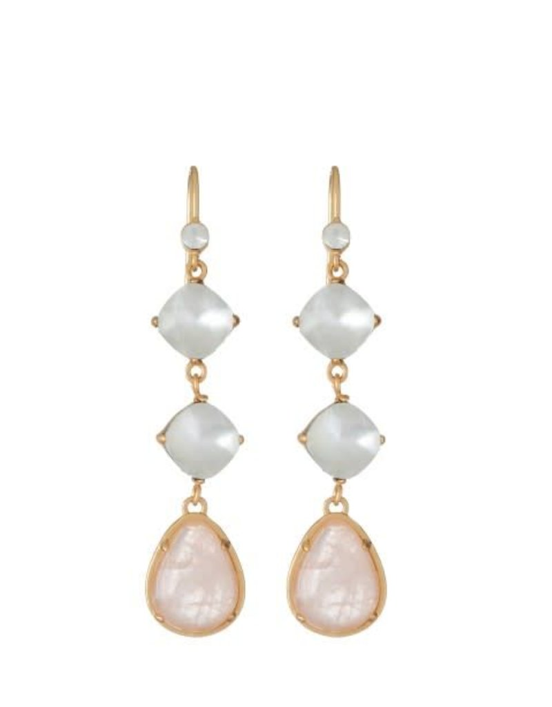 Spartina 449 950171 STONE DROP EARRINGS