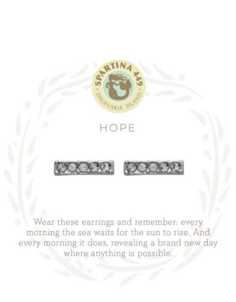 Spartina 449 512381 HOPE STUD EARRINGS