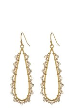 Spartina 449 951673 BEADED RAINDROP EARRINGS