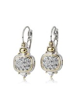 JOHN MEDEIROS F3900-AF00 NOUVEAU CZ FRENCH WIRE EARRINGS