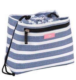 SCOUT 24336 GLAM SQUAD-OXFORD BLUES MAKEUP BAG