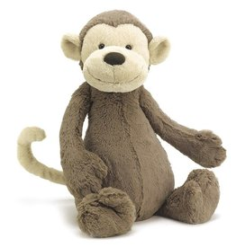 JELLYCAT BAS3MK BASHFUL MONKEY MEDIUM
