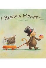 JELLYCAT BK4IKM I KNOW A MONKEY BOOK