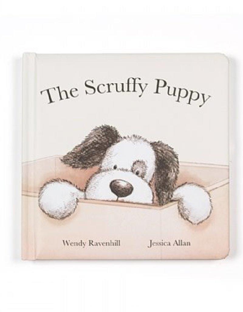 JELLYCAT BK4SPBUS SCRUFFY PUPPY BOOK