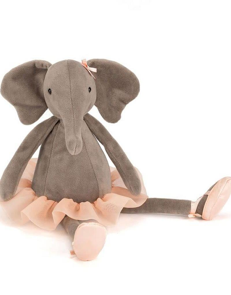 JELLYCAT DDS6E DANCING DARCEY ELEPHANT SMALL