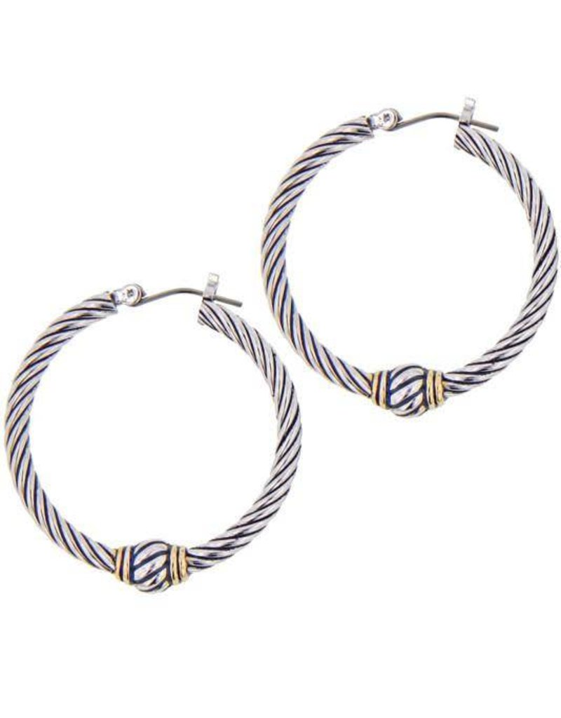 JOHN MEDEIROS G2775-A000 OVAL LINK COLLECTION LARGE TWISTED WIRE ...