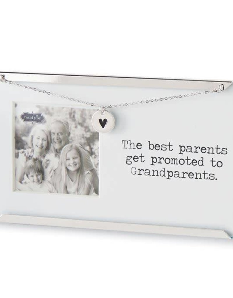 MUD PIE 4695353 GRANDPARENTS CLIP FRAME