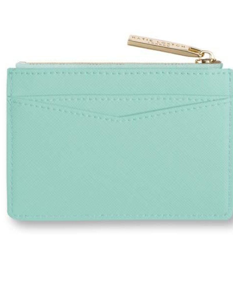 KATIE LOXTON KLB279 CARD HOLDER WITH SMALL ZIP FOR COINS - SPARKLE AND SHINE - MINT - 7.7X10.7 X1.3CM