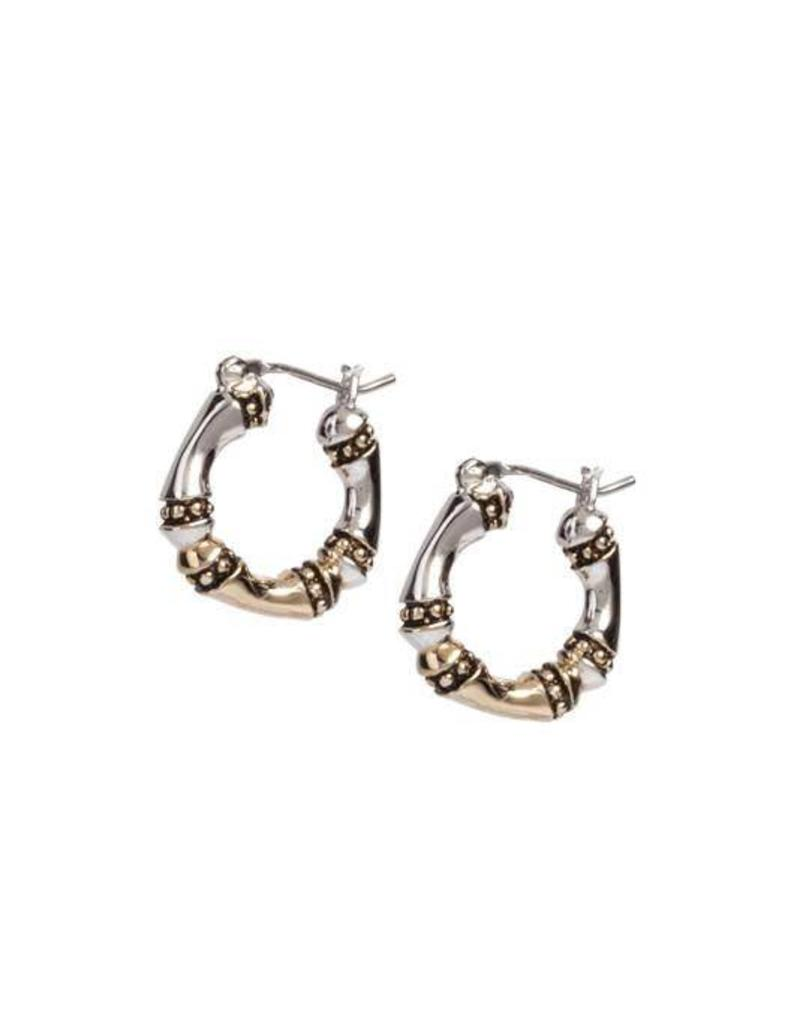 JOHN MEDEIROS G4071-A000 SMALL HOOP EARRINGS