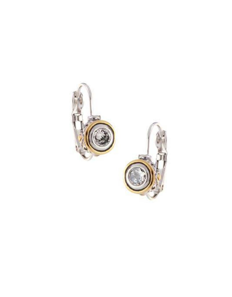JOHN MEDEIROS F5024-AF00 BEIJOS 5MM CZ BEZEL SET EARRINGS