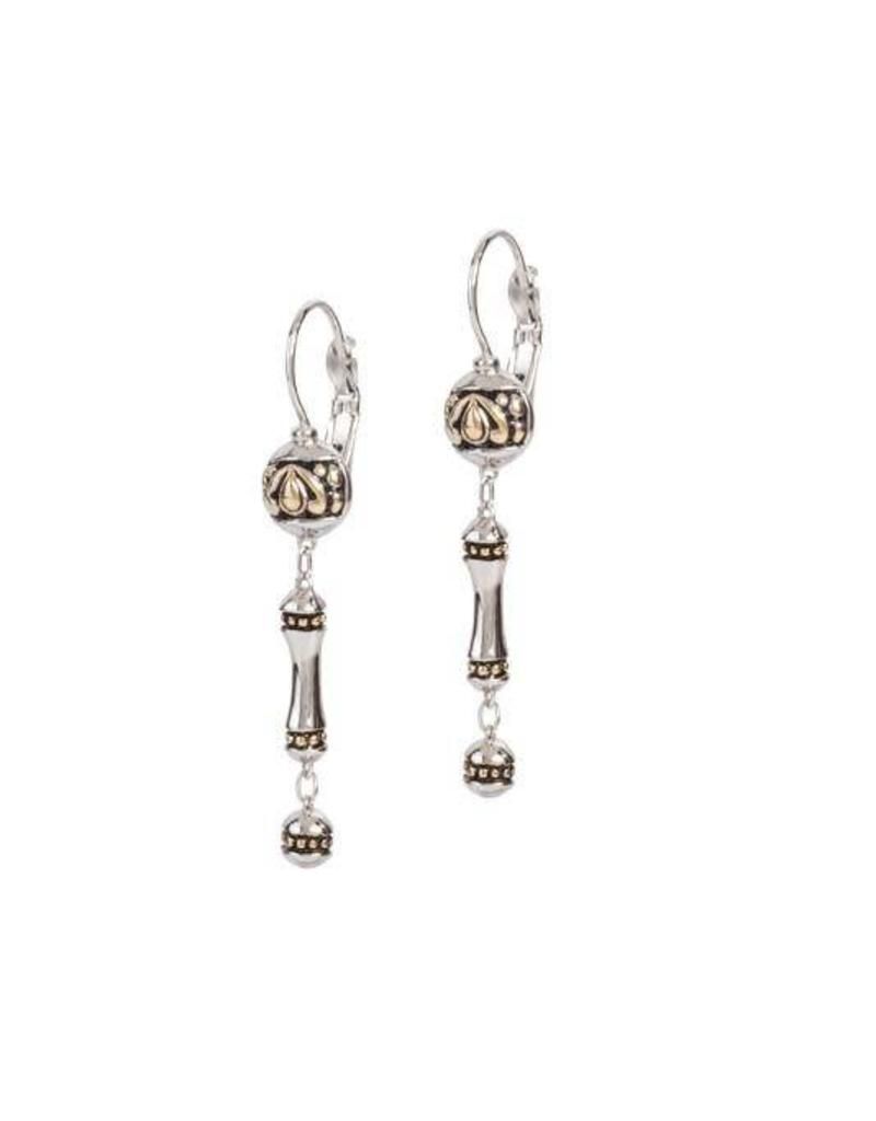 JOHN MEDEIROS F5013-A000 DANGLE DROP EARRINGS